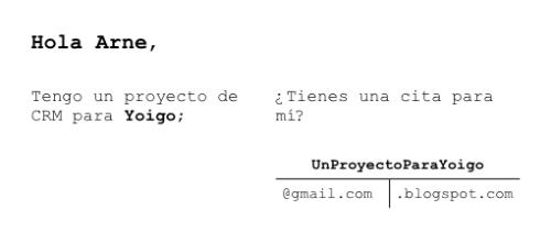 Proyecto valla publicitaria Yoigo